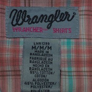 Wrangler Tops - wrangler pearl snap shirt with lace